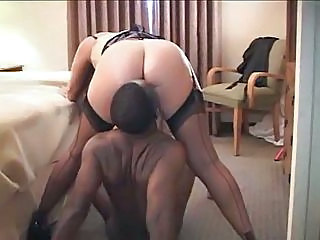White Wife Cheats On Hubby With...