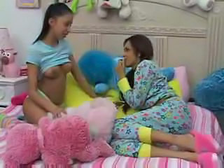 Babysitter Brunette Cute Lesbian Small Tits Young