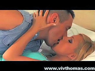 Babe Blonde Kissing Pornstar