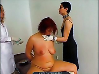 Fat Girl Experiencing Medical Pa...