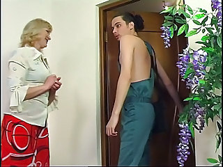Blonde Mature Old and Young