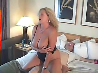 Amateur Big Tits Homemade Mature MILF Riding Wife