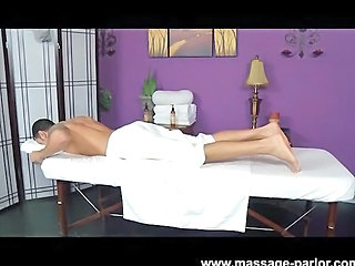 Mischa Brooks Massages His Cock