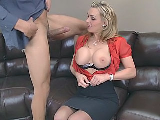 Amazing Big Tits Car Cute MILF Office Pornstar Silicone Tits Skirt