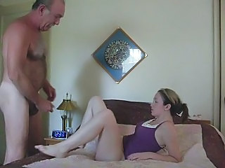 Amateur Daddy Daughter Homemade Old and Young Young