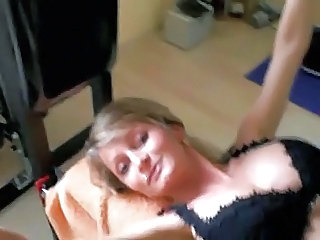 Homemade Lingerie MILF Wife