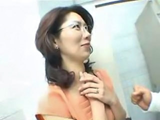 Asian Glasses Japanese MILF