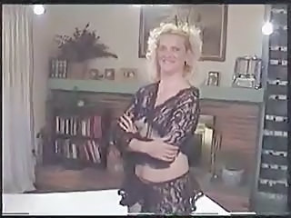 Blonde Lingerie MILF Wife