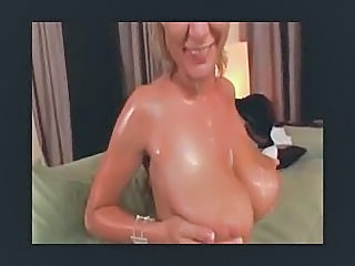 Naturally Busty Chick Gets Pounded and cum on natural tits