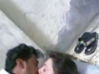 Amateur Arab Kissing