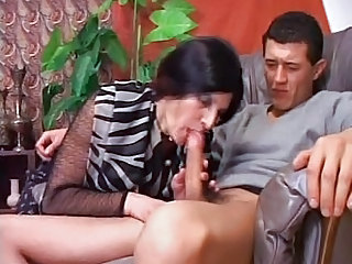Blowjob Brunette Mature Spanish Wife