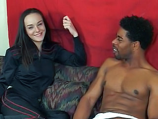 Brunette Cute Interracial Teen