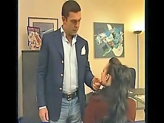 Nasty Cougar Ass Fucked In The Office