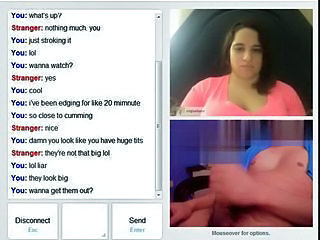 masturbating with cute chubby on omegle