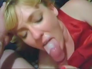 Amateur Blonde Blowjob Cumshot Facial Cute