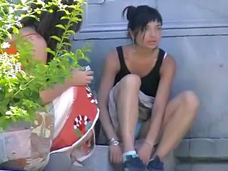 Amateur Asian Outdoor Panty Teen Upskirt