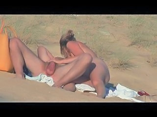 Amateur Beach French Handjob Nudist Outdoor