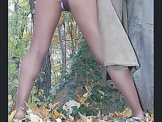 Legs Outdoor Panty Pantyhose