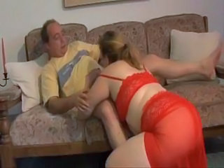 Chubby mature fucking by her husband
