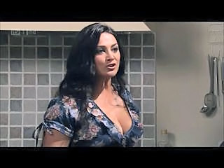 Amazing Brunette Kitchen MILF