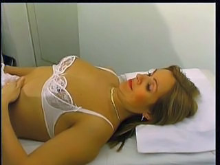 Brunette Doctor Lingerie Mature Small Tits Uniform
