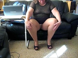 Amateur Blonde Chubby Mature Pantyhose