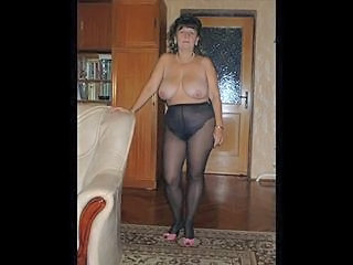My wife in pantyhose...