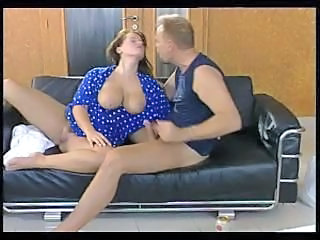 Amazing Big Tits Bus European German MILF