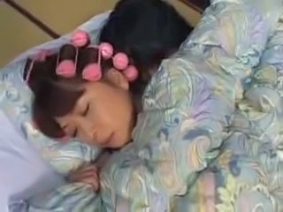 Asian Japanese MILF Mom Sleeping
