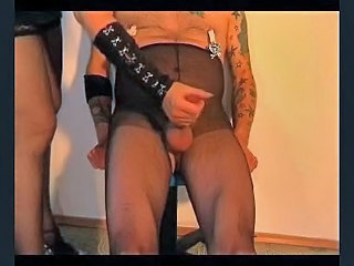 tortured slave gets a handjob