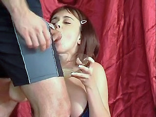 Blowjob Swallow Teen Young