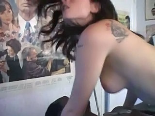Amateur Cuckold French Girlfriend Tattoo