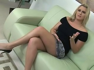 Amazing Blonde Cute MILF