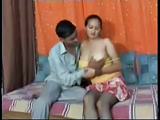 Big Tits Indian MILF Stockings