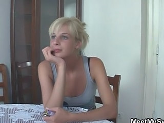 Amateur Blonde Cute Hardcore Teen