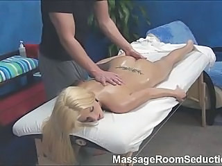 Massage Therapist Seduces Hot Girl!