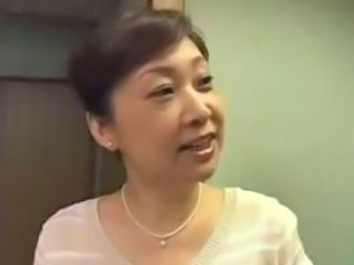 Japanese Mom Groped And Fingered Till Orgasm