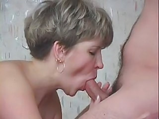 Blonde Blowjob Handjob Mom Russian