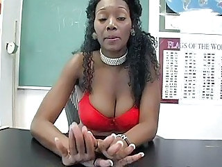 Big Tits Bus Ebony Teacher