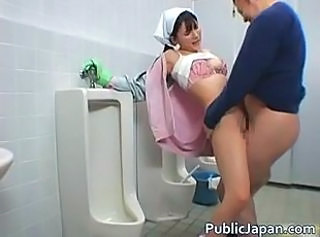 Asian Clothed Hardcore Japanese Lingerie Public Teen Toilet Uniform