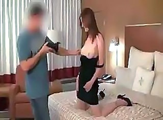 Redhead coed gets taken to a dorm room for some hot exploited sex