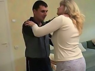 Blonde Chubby Mature Mom