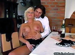 Big Tits Blonde Drunk Mature Old and Young