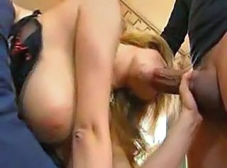 Hot Mom does her son and friend for delight