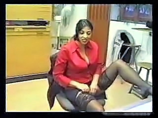Amateur MILF Office Secretary Stockings Turkish