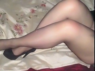 Amateur Legs Pantyhose Wife
