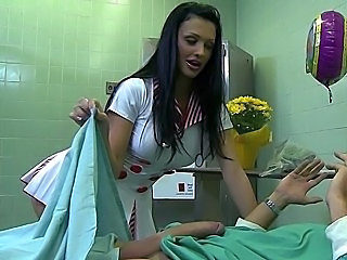Babe Big Tits Brunette Nurse Pornstar Uniform