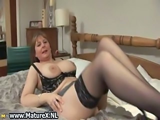 Big Tits Lingerie Mature Stockings Wife