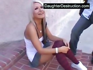 Young daughter fucked hard