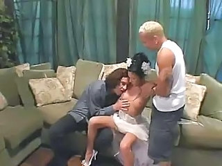 Bride Brunette Hardcore Natural Teen Threesome Young